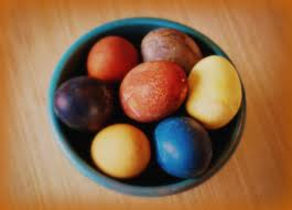 Easter Eggs - Natural Dye