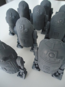 An Army of R2D2 Soaps