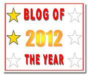 Blog of the Year 2012 Award (1/6)