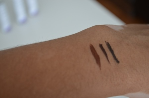 Three Vegan Eyeliners - The All Natural Face