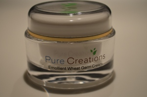 Product Review - Pure Creations' Emollient Wheat Germ Cream