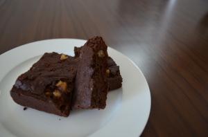 One-Pot Bittersweet Brownies