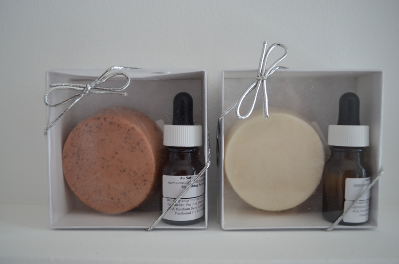 Soap and Smoothing Serum Gift Boxes