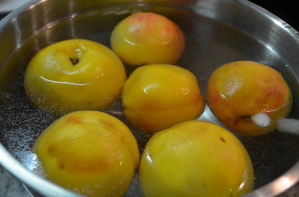 Peaches in the Ice Bath