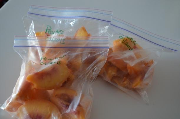 Fresh Frozen Peach Slices