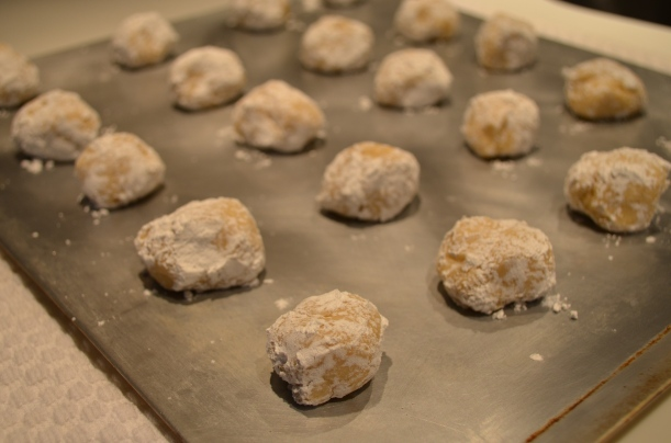 Lemon Crinkle Cookies - Almost Ready for the Oven