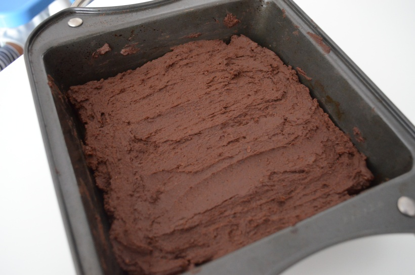 Black Bean Brownies - ready for the oven